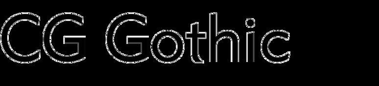 CG Gothic