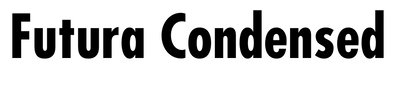 Futura Condensed