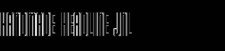 Handmade Headline JNL