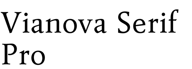 Vianova Serif Pro