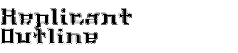 Replicant Outline