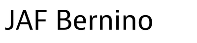 JAF Bernino Sans