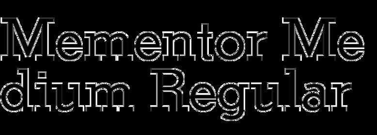 Mementor Medium Regular