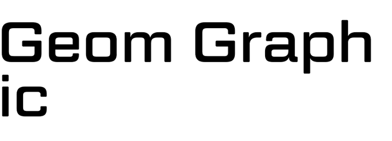 Geom Graphic (Dharma Type)