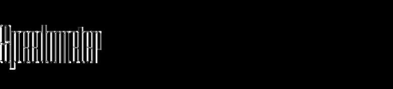 Speedometer (Dharma Type)