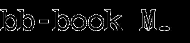 bb-book Mono