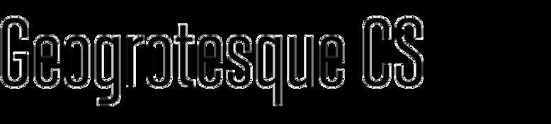 Geogrotesque Condensed Series