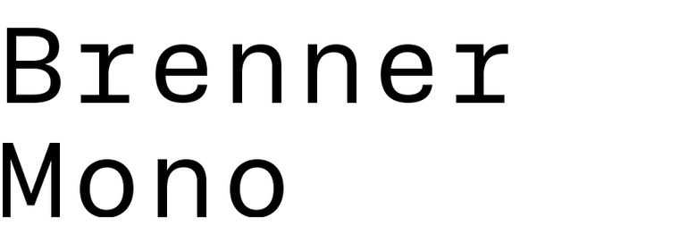 Brenner Mono
