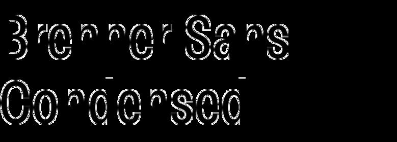 Brenner Sans Condensed