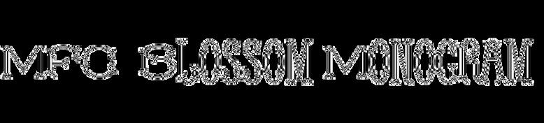 MFC Blossom Monogram