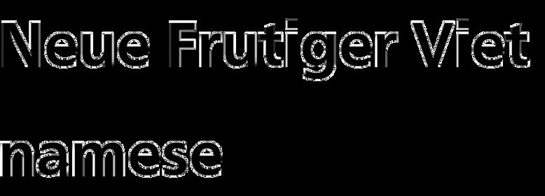 Neue Frutiger Vietnamese