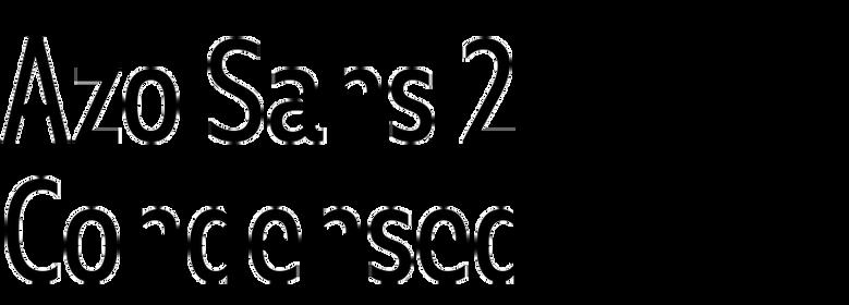 Azo Sans 2 Condensed