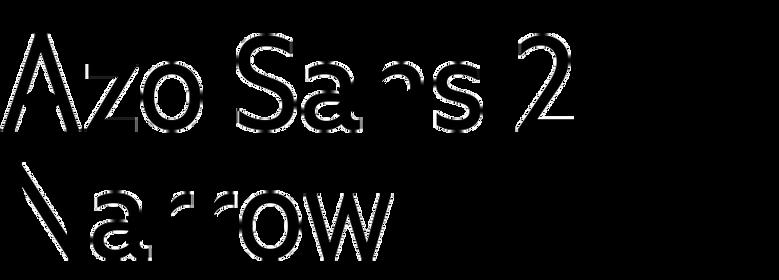 Azo Sans 2 Narrow