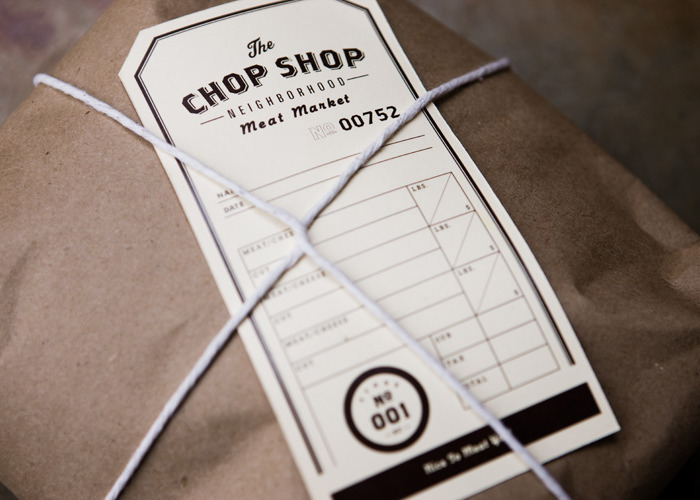 Chop Shop Label