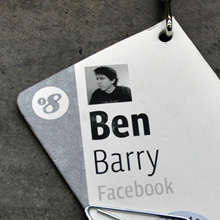 f8 Conference Badges