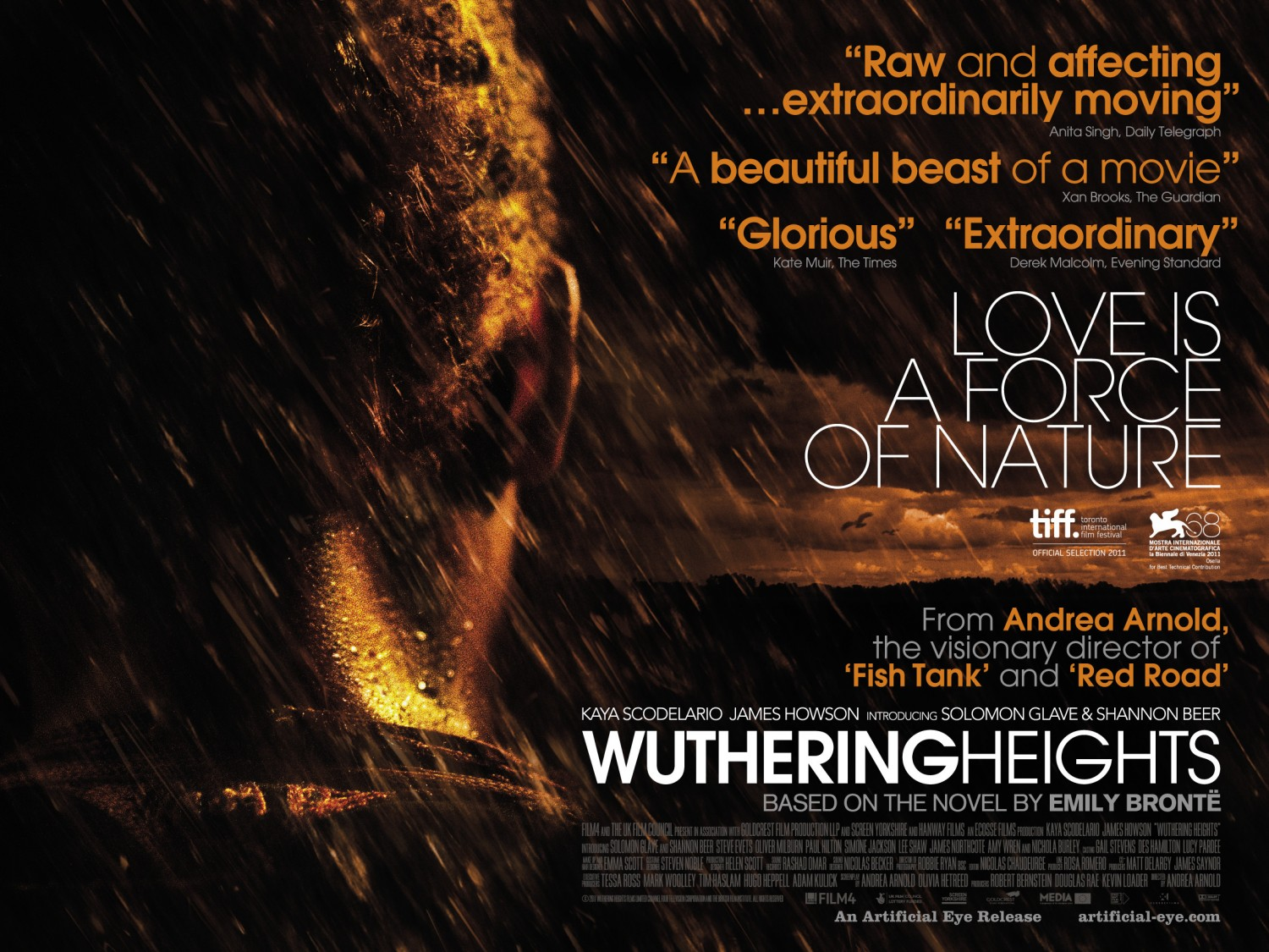 Wuthering Heights UK Theatrical Poster