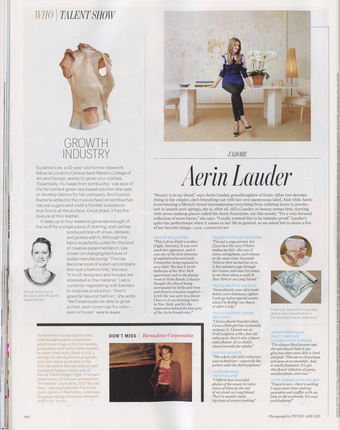 W Magazine, Sept. 2012 - department