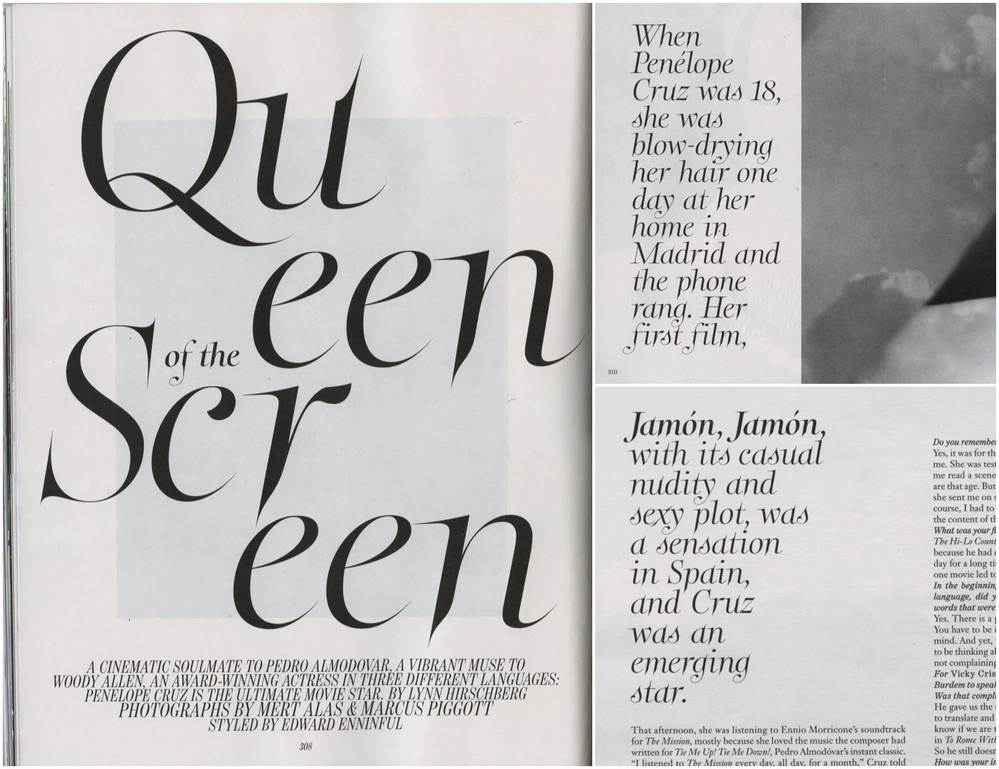 W Magazine, Sept. 2012 - feature