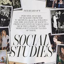 <cite>W</cite> Magazine, September 2012