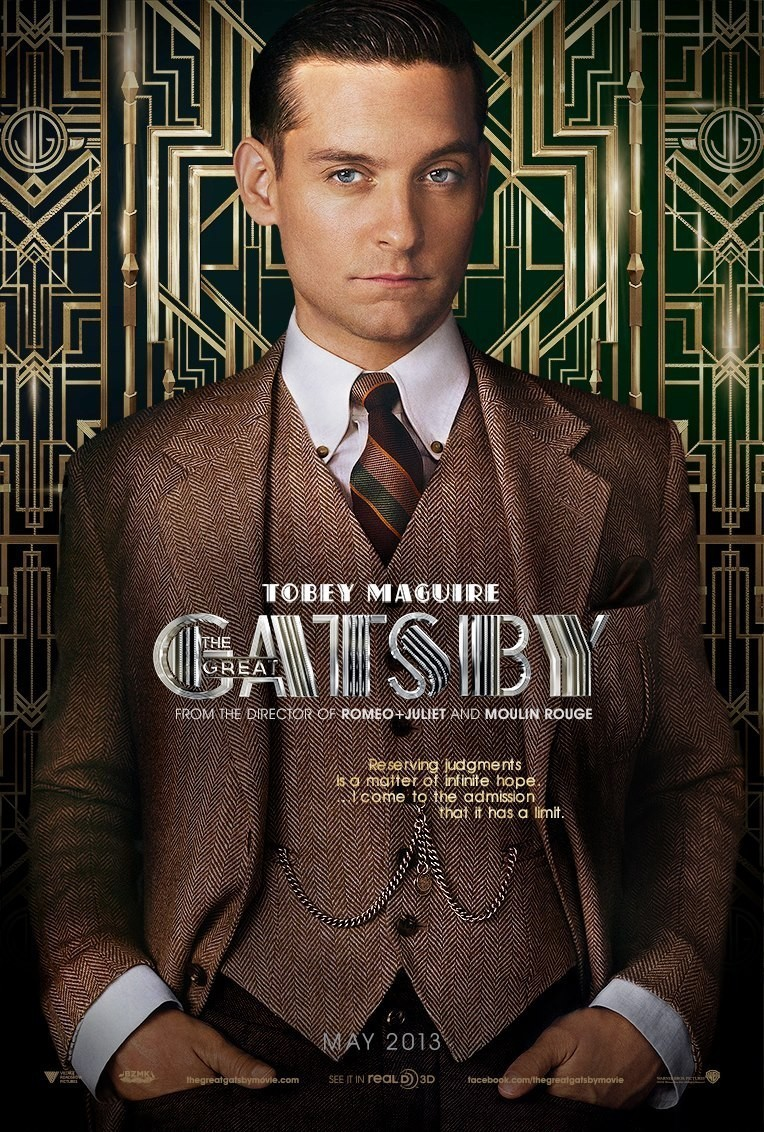 The Great Gatsby (2013) Film Promotion - Fonts In Use