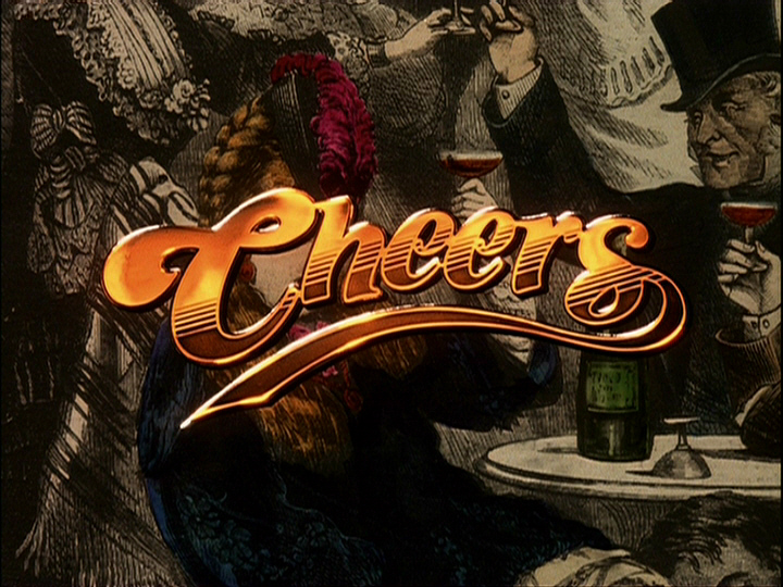 Cheers Logo and Opening Titles - Fonts In Use