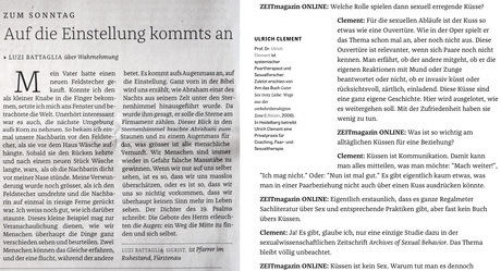 FF Franziska for <cite>Bündner Tagblatt</cite> and <cite>ZEITmagazinOnline</cite>