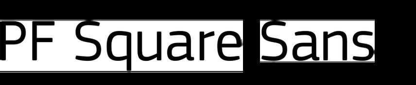 PF Square Sans