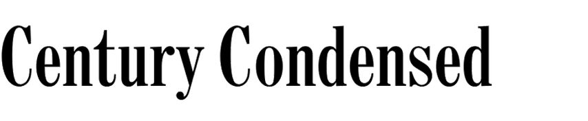 Century Condensed (old)