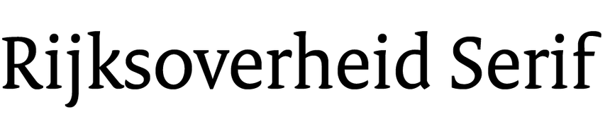 Rijksoverheid Serif