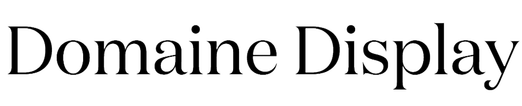 Domaine Display