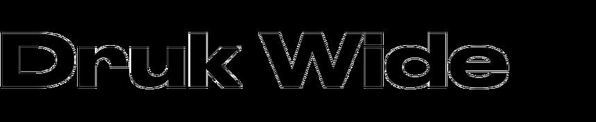 Druk Wide In Use Fonts In Use