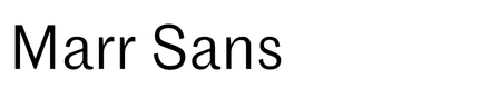 Marr Sans