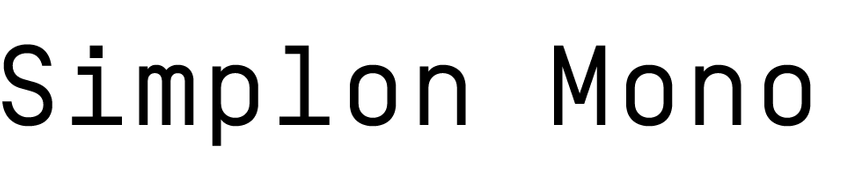 Simplon Mono
