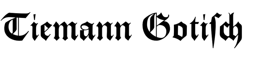 Tiemann-Gotisch