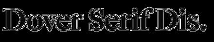 Dover Serif Display