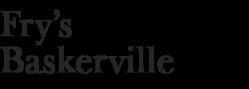 Fry's Baskerville