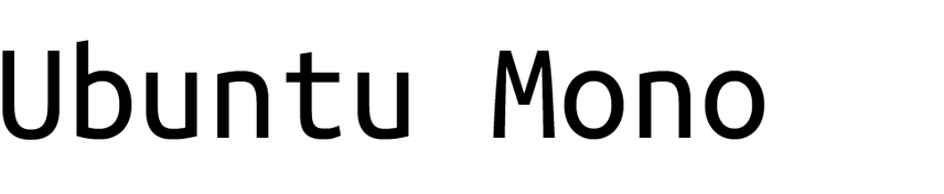 Ubunto Mono