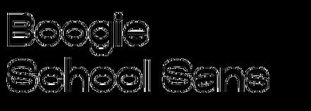 Boogie School Sans