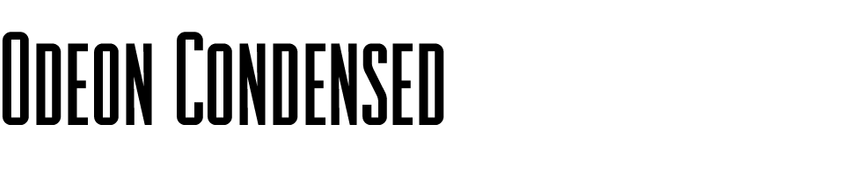 Odeon Condensed