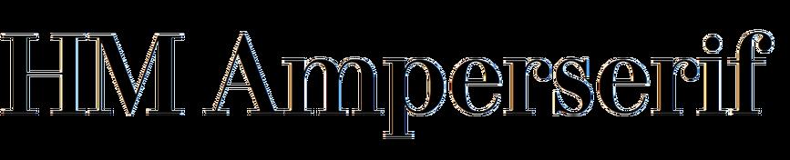 HM Amperserif