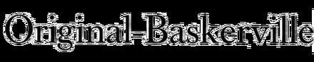 Original-Baskerville Antiqua