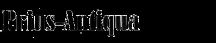 Prius-Antiqua