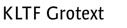 KLTF Grotext