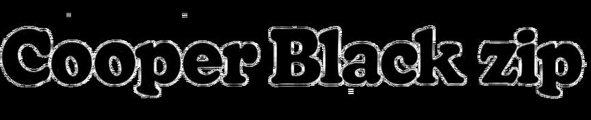 Ziptop Cooper Black