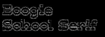 Boogie School Serif