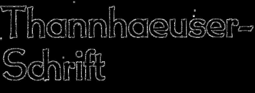Thannhaeuser-Schrift