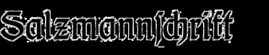 Salzmannschrift