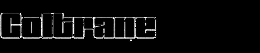 Coltrane (Typo-Matic)