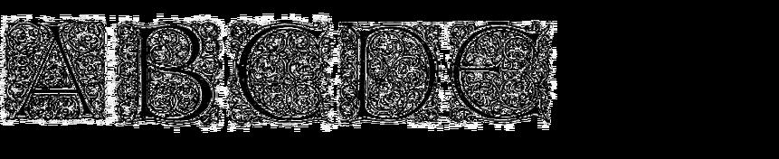 Gotische Antiqua Initialen