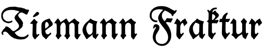 Tiemann-Fraktur